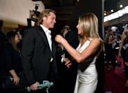 El MOMENTAZO del que todo el mundo habla: el reencuentro entre Jennifer Aniston y Brad