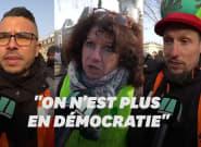 Macron leur suggère d'essayer la dictature, ces manifestants lui