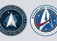 Le logo de la Force armée de l'Espace de Trump rappelle celui de Star