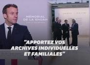 Macron appelle les Français à partager leurs archives de la