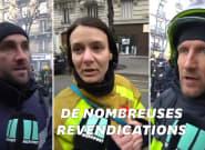 Ces pompiers en grève expriment leur