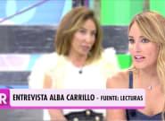 La crueldad de Alba Carrillo con Sonsoles Ónega que ha obligado a intervenir a Ana