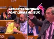Les élus britanniques font leurs adieux au Parlement dans la tristesse et les cris de