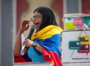 La vicepresidenta de Maduro carga contra la derecha