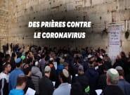 Coronavirus: à Jérusalem, des prières au Mur des Lamentations contre