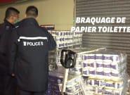 Coronavirus: un braquage pour du papier toilette à Hong