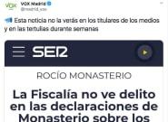 Críticas a este tuit de Vox Madrid: lee el mensaje y mira la