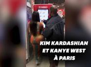 Kim Kardashian et Kanye West au KFC de Strasbourg-Saint-Denis à