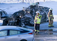 Massive Pileup On Highway South Of Montreal Kills
