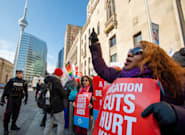 Ontario Teachers Holding Massive Protests Amid Provincewide