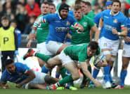 Tournoi des Six nations: Irlande-Italie à Dublin reporté pour cause de