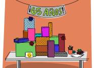 INSTRUCCIONES PARA... celebrar el 65 cumpleaños de tu