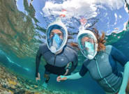 Coronavirus: un masque de plongée Decathlon utilisé à l'hôpital en