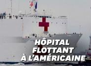 Coronavirus: Un navire-hôpital de 1000 lits arrive à New