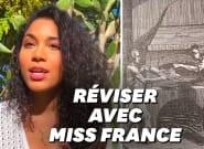 Pendant le confinement, Miss France 2020 fait des exposés