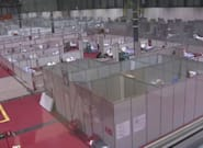 El hospital provisional de Ifema recibe más material