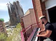 La música recorre los balcones de todo el mundo para animar a los vecinos en la