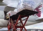 Llega (por fin) uno de los dos aviones desde China prometidos por Díaz