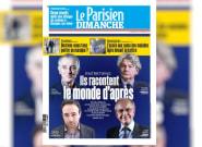 La Une du Parisien, avec quatre hommes, choque sur tous les