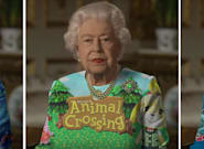 Elizabeth II et sa robe valent le