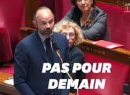 Édouard Philippe balaye l'idée d'un déconfinement