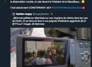 Coronavirus: Macron provoque un attroupement en Seine-Saint-Denis, Le Pen