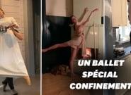 Pendant le confinement, ces danseurs de ballet télétravaillent à leur