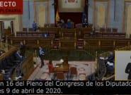 Así estaba el Congreso tras el anuncio del PP: mira a la izquierda de la