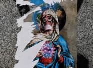 Le coronavirus vu par les street artists du monde