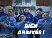 Malgré le coronavirus, l'ISS a accueilli ses nouveaux