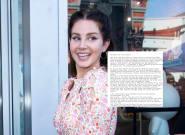 Lana del Rey s'offre une mise au point sur Instagram et ne va pas se faire que des