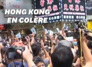 À Hong Kong, les manifestants dans la rue contre la loi sur