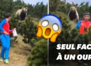 Suivi par un ours, un enfant italien fait preuve d'un sang-froid