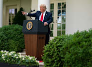 Trump menace de