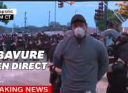 Minneapolis: un journaliste menotté par la police en plein