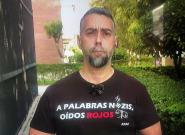La comentada camiseta con la que el portavoz de Facua ha aparecido en La
