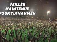 Hong Kong commémore Tiananmen bougies à la main malgré