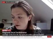 Una niña interrumpe la entrevista de su madre en la BBC para colocar su