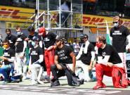 Carlos Sainz, entre los pilotos que no se han arrodillado por el 'Black Lives