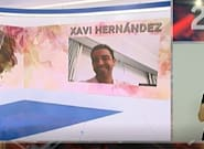El momentazo de Xavi en el 'Telediario': hay que andar muy rápido para