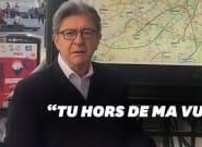 Mélenchon répond à Macron sur TikTok en reprenant