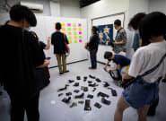 A Tokyo, cette exposition d'art s'est faite voler toutes ses
