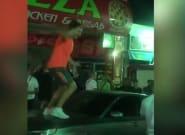 Indignación por las imágenes de decenas de turistas borrachos y sin mascarilla en