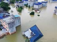 China vive sus peores inundaciones en