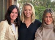 Jennifer Aniston, Lisa Kudrow et Courteney Cox réunies pour inciter les Américains à