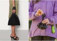 Sac à crottes ou sac à main? Cette pochette Bottega Veneta