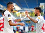 El Sevilla jugará la fase final de la Europa League tras ganar 2-0 a la