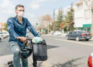 Les vélos et joggeurs concernés par le masque obligatoire en