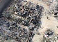 Un incendio arrasa un camping de Málaga y deja dos
