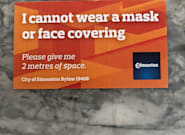Edmonton's Mask Exemption Cards And 'Honour System' Met With